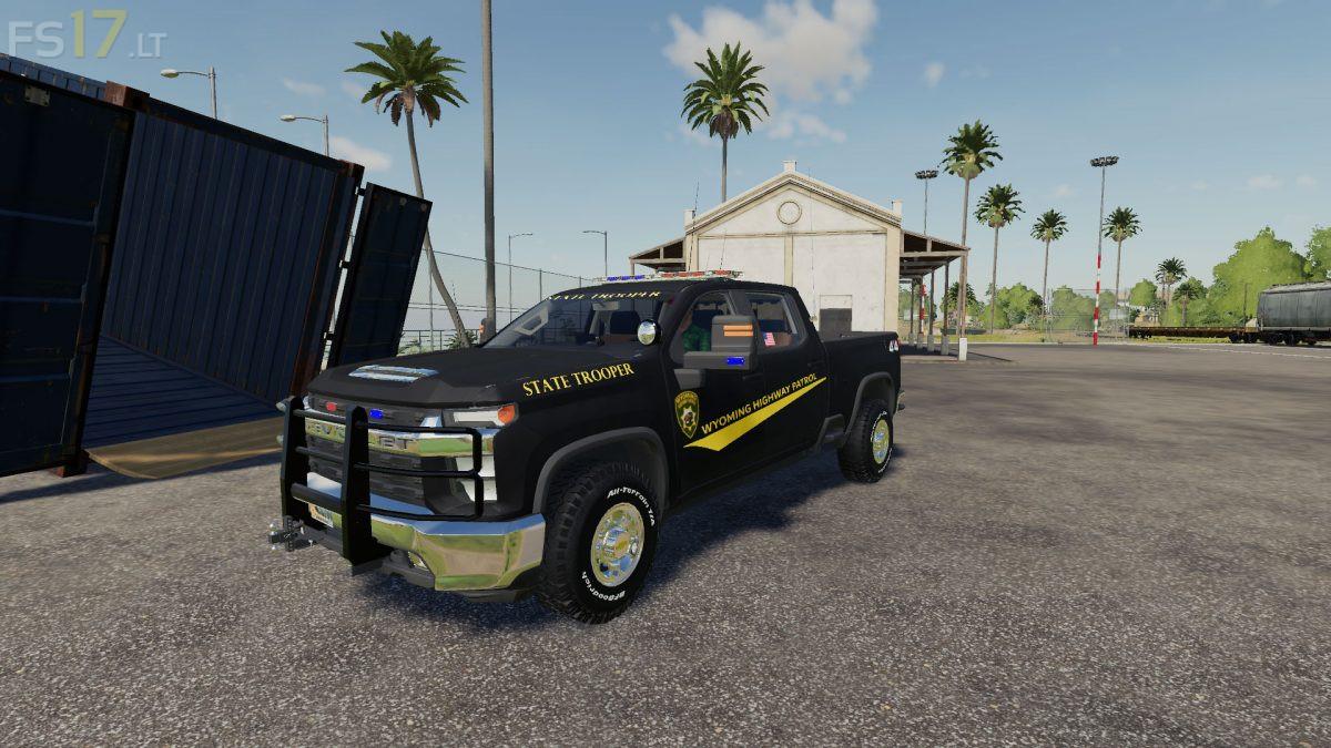 Chevy Silverado City Service 2020 v 1.1 - FS19 mods