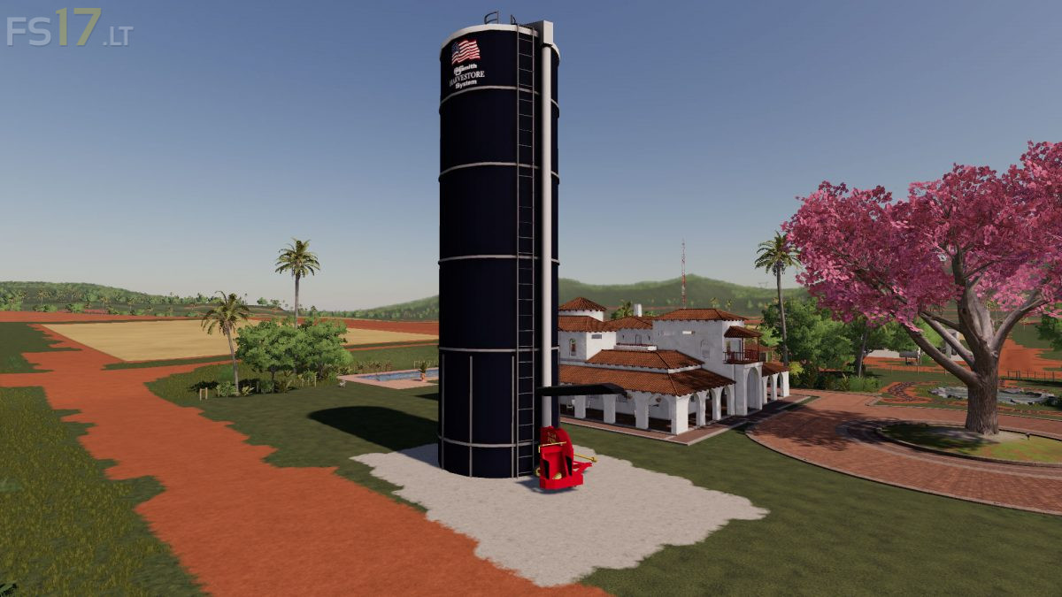 Placeable Fermenting Silo v 1 1 - FS19 mods