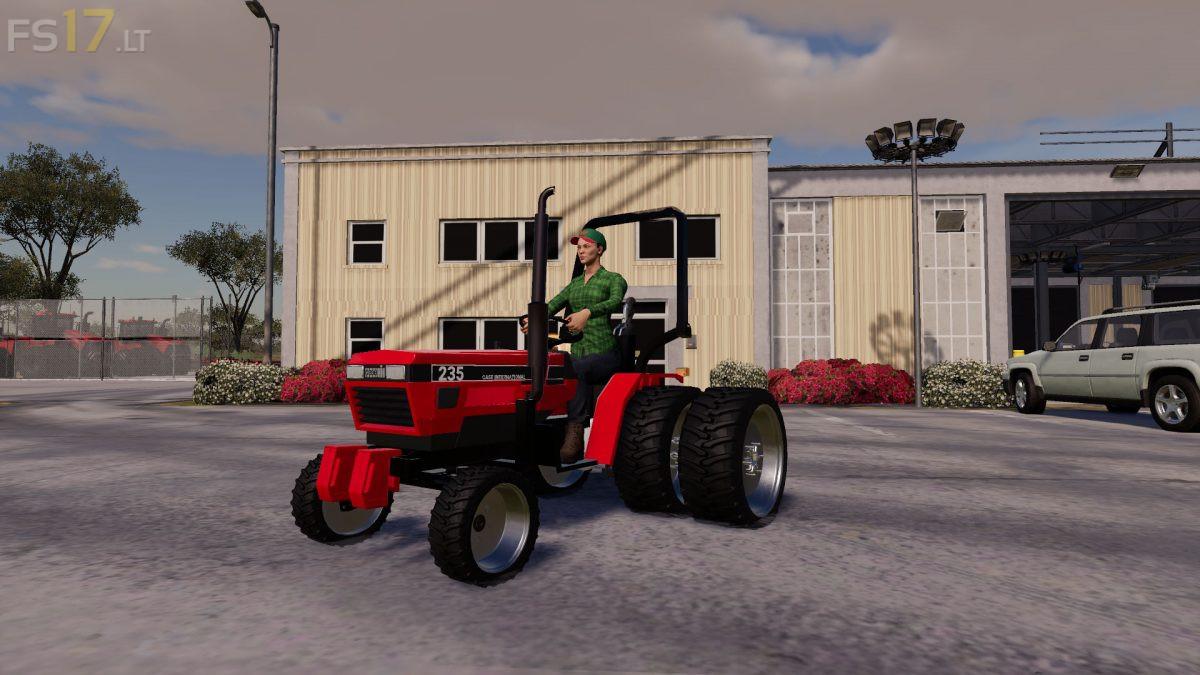 Case Ih 235 Lawn Tractor And Car Hauler Mods Pack V 1 0