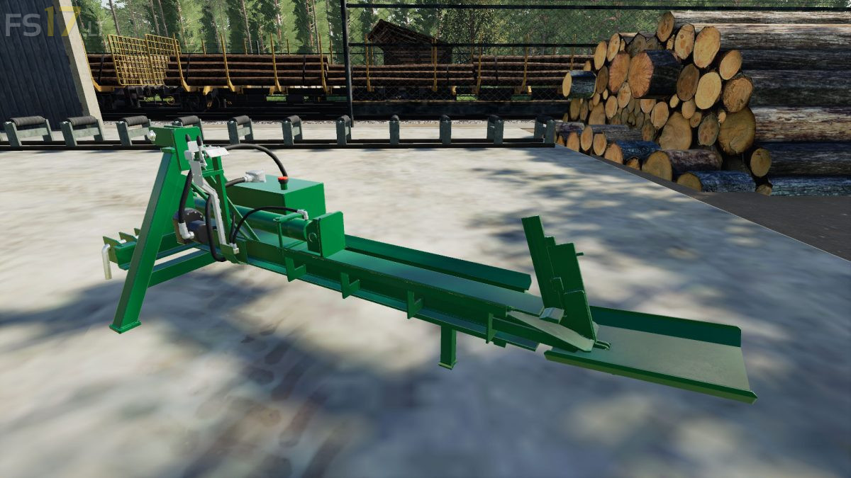 Log Splitter v 1 0 - FS19 mods