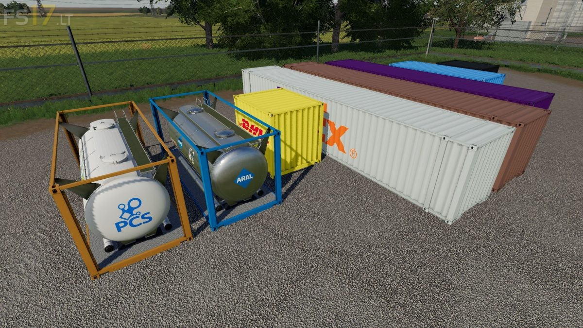 Fs19 Container Mod