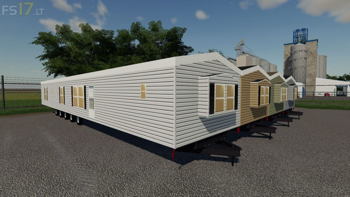 Mobile Home Pack v 1 0 - FS19 mods