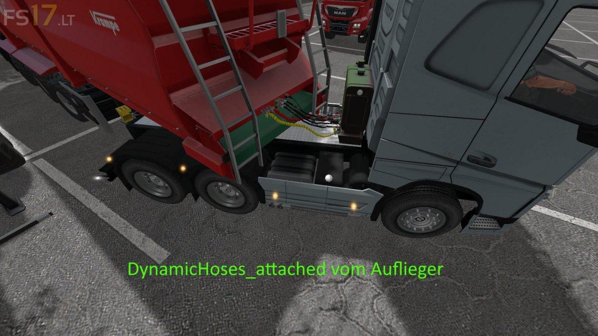 Dynamic Hoses for Sattle Trucks v 1 0 - FS19 mods