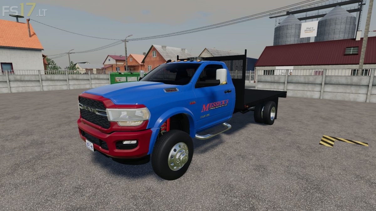 2020 Dodge Ram 3500 Flatbed V 2 0 Fs19 Mods
